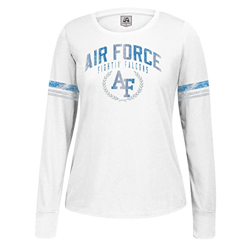 NCAA Air Force Falcons Women's Long Sleeve Laurel