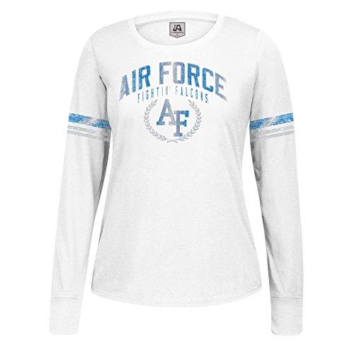 NCAA Air Force Falcons Women's Long Sleeve Laurel