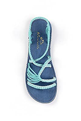 NAC Hand-Woven Rope Sandals For Women River