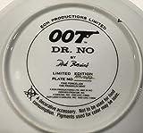 Rare James Bond 007 Collector Plate Dr No Sean