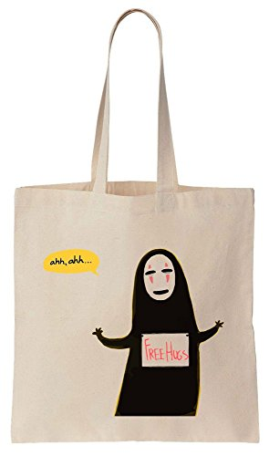 No-Face God Free Hugs Design Sacchetto di cotone tela di canapa