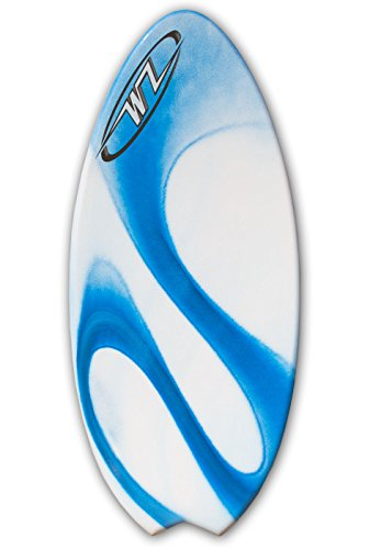 Wave Zone Fish - 48'' Fiberglass Fishtail Skimboard - Blue by Wave Zone Skimboards