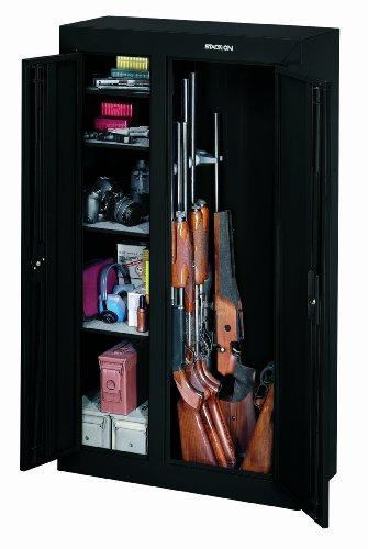 Stack-On GCDB-924 10-Gun Double-Door Steel Security Cabinet