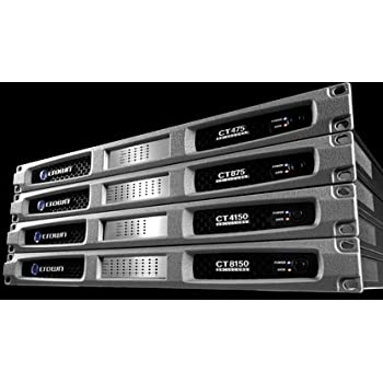 Crown Audio CT4150 4-Channel Rackmount Power Amplifier, 125W/Channel @ 8 Ohms