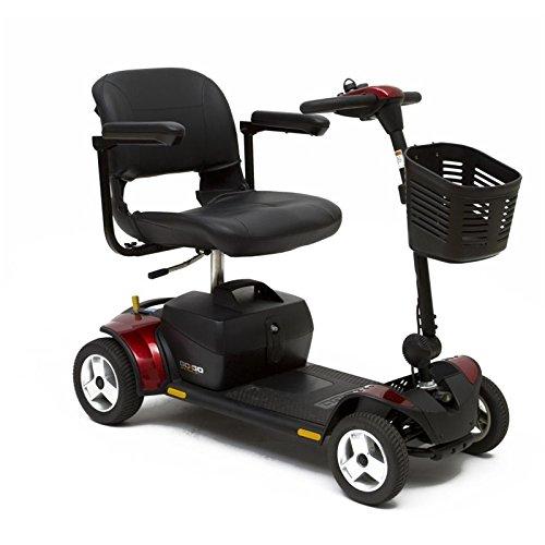 Go-Go Traveler Elite Plus 4-Wheel Pride Mobility Scooter SC54