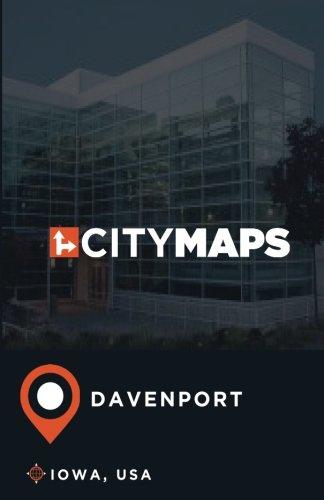 - City Maps Davenport Iowa, USA