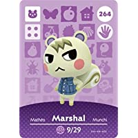 Marshal - Nintendo Animal Crossing Happy Home Designer Amiibo Card - 264