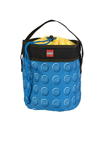 LEGO Cinch Bucket-Blue (Lego Junior Bricks)