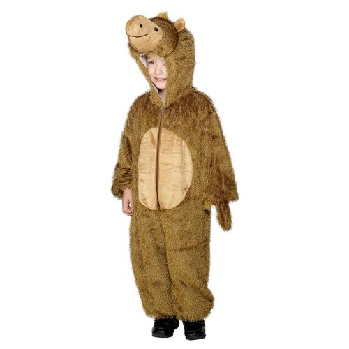 Camel Costume, Brown, With Hooded All In One ()