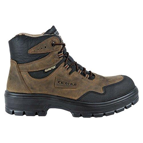 """Cofra 82080–001.w36taglia 36s3WR CI HI HRO SRC """"Arkansas sicurezza scarpe, colore: marrone/nero"""