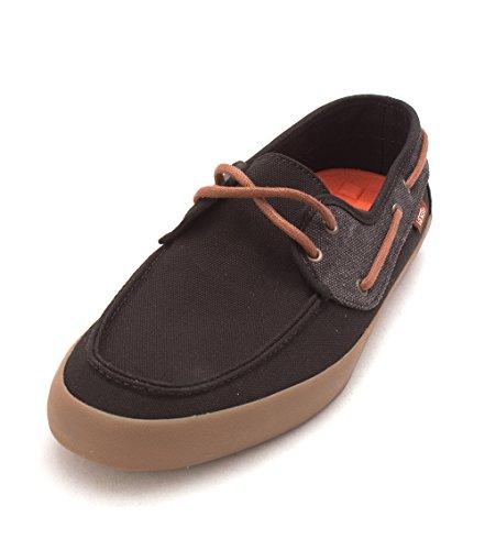 7a6249f70b Hommes Chaussures Vans Chauffeur Lacets Marron Bateau À Toile Daim mwv8nN0