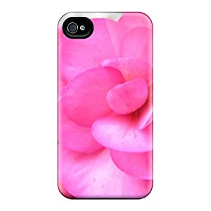 Cute High Quality Iphone 4/4s The Blushing Begonia Case