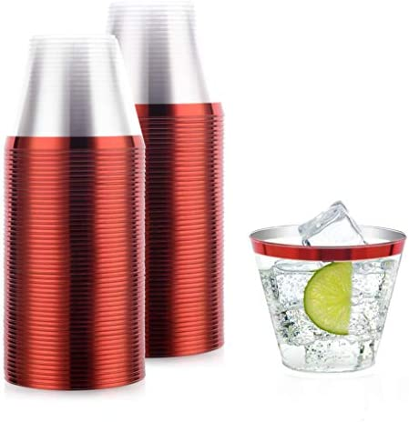 disposable cocktail Fashioned Tumblers champagne product image