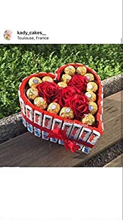 Coffret Cadeau Fête Des Mères Kinder Ferrero Fleurs Flower