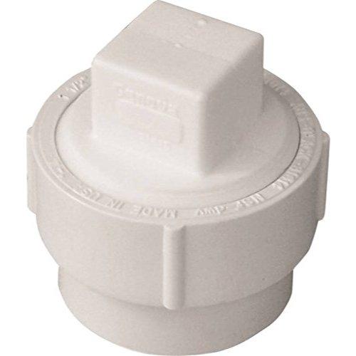 4in Pvc Threaded Plug - Genova Products 71640 4