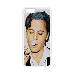 Johnny Depp iPhone 6 4.7 Inch Cell Phone Case White L2003755