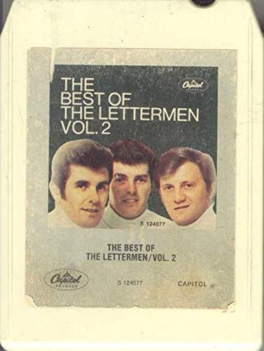THE LETTERMEN: The Best of the Lettermen Vol. 2-31862 8 Track Tape