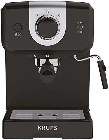 Krups XP320840 Opio - Cafetera de vapor y bomba, color negro: Amazon.es: Hogar