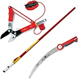 Wolf-Garten Telescopic Handle ZMV4 Multi Change RCM Loppers PC370MS Pruning Saw
