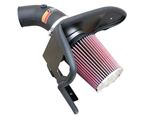 Price comparison product image K&N Cold Air Intake Kit with Washable Air Filter: 2001-2005 BMW 3-Series (330Ci,  330i,  330Xi) 3.0L V6,  Black HDPE Tube with Red Oiled Filter,  57-1001
