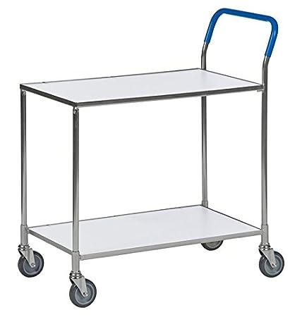 Mesa carrito | estrecho carro carro Etage material carro con 2 estantes