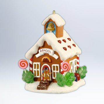 Hallmark 2012 Keepsake Ornaments QX 8014 Schoolhouse #7 ~ Noelville Series