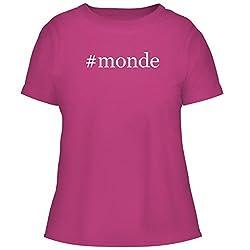 Monde Cute Womens Graphic Tee Fuchsia X Large