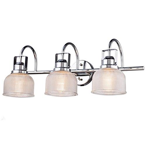 Chrome 3 Light Vanity Lamp - 9