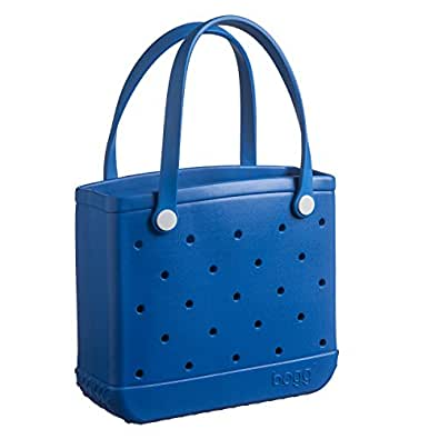 BLUE-eyed baby bogg (smaller version of the best selling original bogg bag)