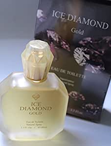 BEST FRAGRANCE PERFUME FOR WOMEN ICE DIAMOND GOLD FOR WOMAN 100 ml