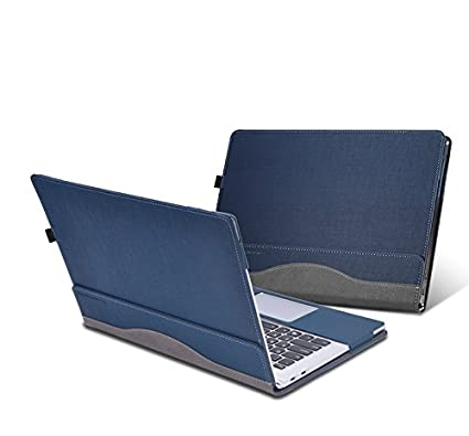 for Lenovo Yoga 910/920 Case Detachable PU Leather Protective Laptop Cover for Lenovo Yoga 5 Pro/Yoga 6 Pro 13.9 Inch (Blue)