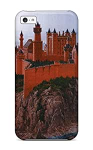 Brand New 5c Defender Case For Iphone (the Red Fortress)