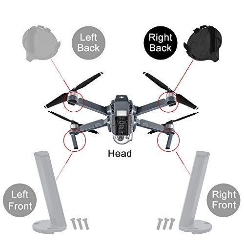 HeiyRC 4PCS Landing Gear Kits for DJI Mavic pro,Left Right Front Back Legs,Replacement Kits