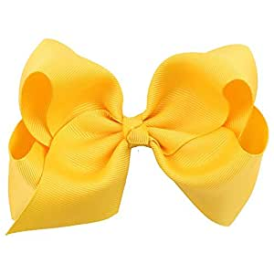 Boutique Hair Bows 5 Inch 12CM Hair Bows Clips For Baby Girls Teens Toddlers Gifts