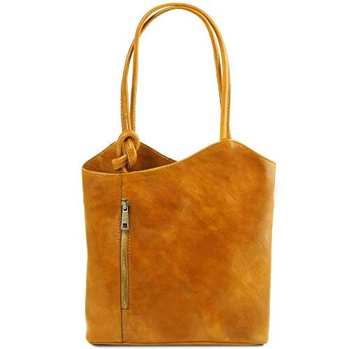 Jaune Patty convertible LEATHER sac dos cuir en Sac TUSCANY TL141497 à en ngOqaZRaxw