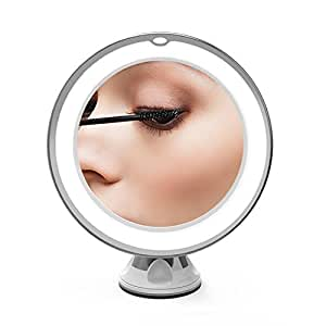 Amazon Com Olaxer 6 8 Quot 7x Magnifying Makeup Mirror