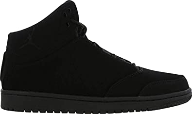 Kinder Leder Nike Schwarz Jordan 1 Flight Junior 5 Bg y0wmvnN8O
