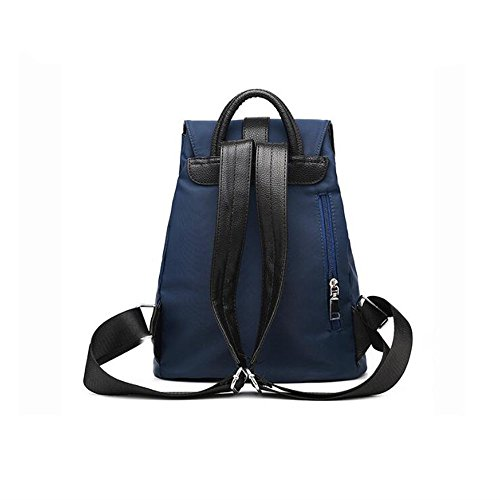 Wewod Bolso Mujer de Oxford tela Mochilas Escolares Backpack Bolsos de Moda Casual Daypack Colegio Bandolera Bolsas de Viaje Sport Bag Mochila para Escuela 28 x 34 x 15 cm (L X H x W ) Azul