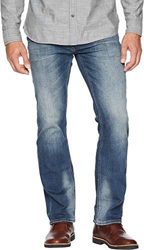 Buffalo David Bitton Men's Six-X Slim Straight Jeans in Crinkled & Sanded Crinkled & Sanded 36 ()