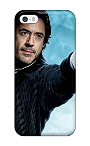 New Robert Downey Jr In Sherlock Holmes 2 Tpu Case Cover, Anti-scratch CUPHuFp3080KnYNH Phone Case For Iphone 5/5s