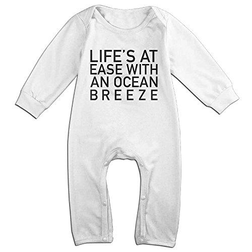 Niguvlpo Ocean BreezeBaby Long Sleeve Jumpsuit Baby