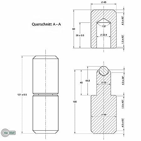 Anschweißbandrollen Torband Anschweissband 122 mm Ø 35  auf Kugeln