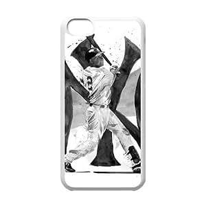 Diy Derek Jeter Iphone 5C Hard Shell Case Fashion Style UN012532 wangjiang maoyi