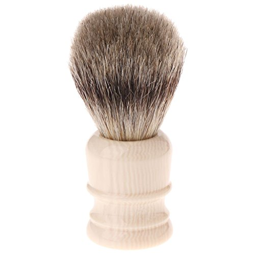 puhoon Shaving Brushes, 1PC Badgers Hair Removal Beard Shaving Brush For Men Shave Tools Cosmetic Tool, Engineered for the Best Shave, for Safety All Razor, 50#