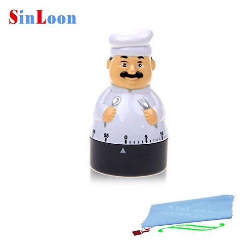 SinLoon Novelty Minutes Cook shaped Mechanical product image