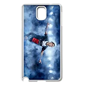 Samsung Galaxy Note 3 Cell Phone Case White Zlatan pwnq
