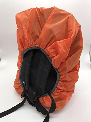 VERTTEE Hiking 45L Camping Universal Cover Outdoor Bcakpack Rain Cover Rucksack Waterproof Protector Orange 30 Dustproof Travel Foldable Backpack 1UYqw5w