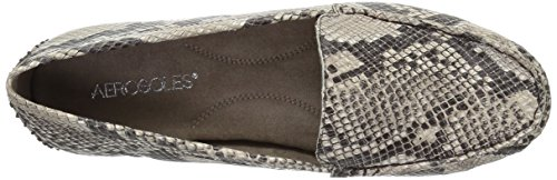 Oltre Dello Azionamento Donne Loafer Taupe Slip on Serpente Aerosoles qRSOxtp