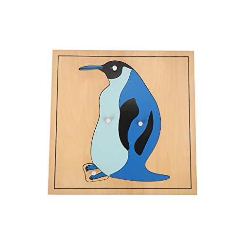 LEADER JOY Montessori Nature Penguin Puzzle for Early Preschool Learning Toy