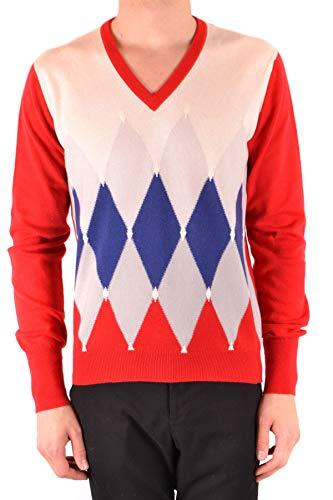 Ballantyne Men's Mcbi37921 Red Cashmere Sweater
